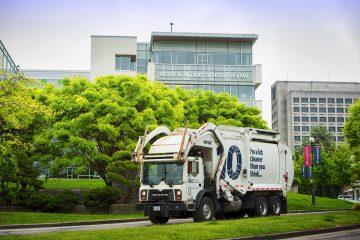 UBC garbage truck